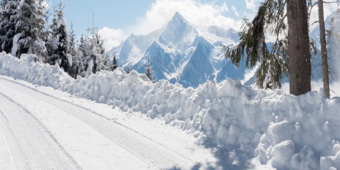 location pneus neige